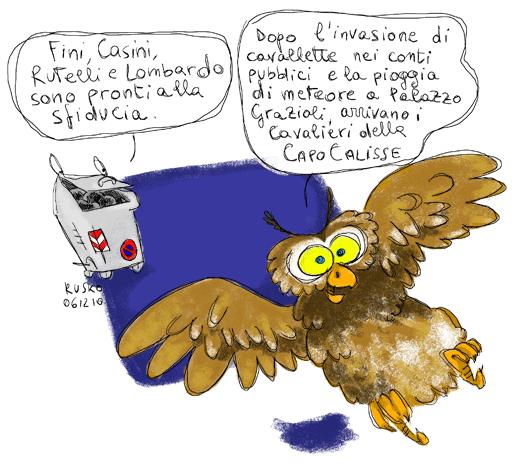 rusko e l'uccellaccio